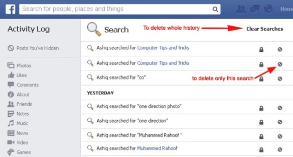 Use Facebook as a Search Engine – hi-trick